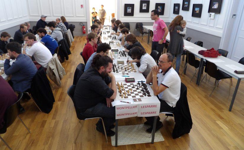 Lesparre-Montpellier échecs